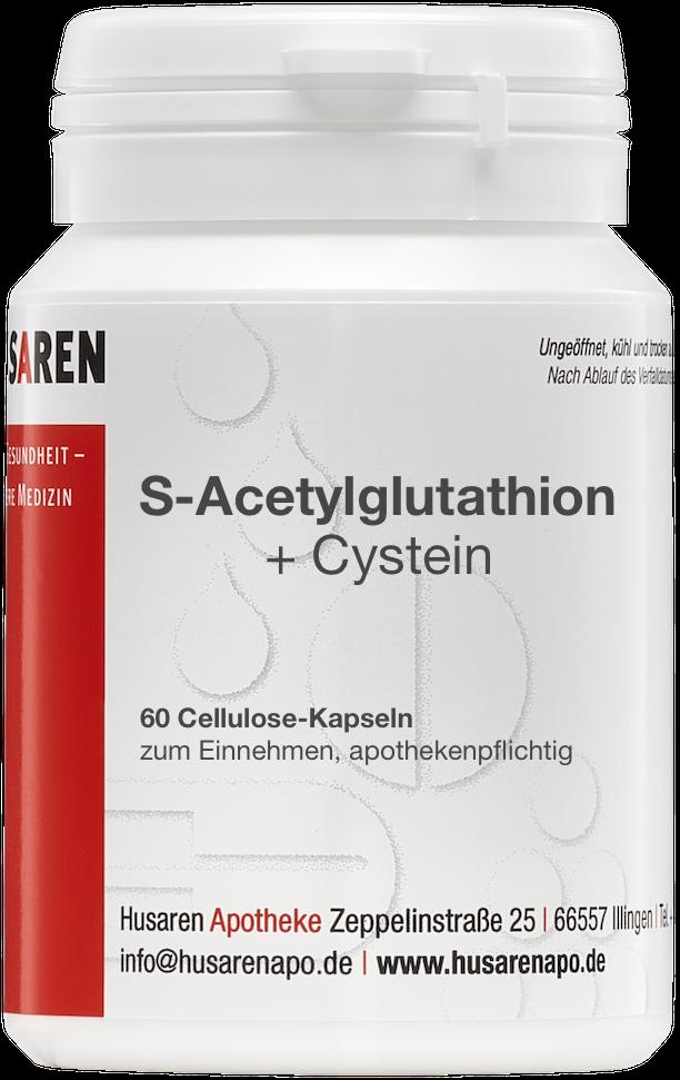 s-acetyl-glutathion cystein  60 kapseln kaufen