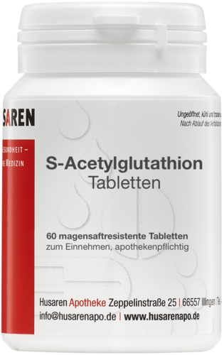 S-Acetyl-Glutathion, 60 Tabletten