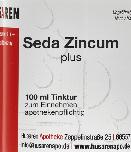 Seda Zincum plus, 100 ml